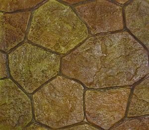 rs130 random sandstone hammered edge stone